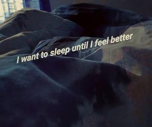 bed, broken, and dark image