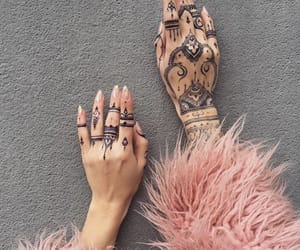 henna, fur, and nails image