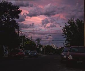 sky, clouds, and dark image