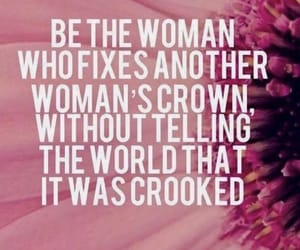 woman, crown, and quotes image