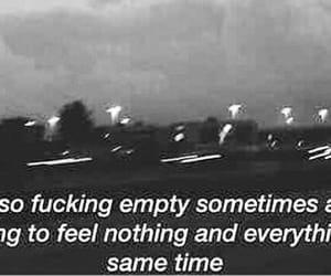broken, deep, and empty image