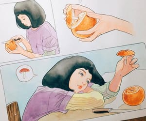 art, girl, and comics image