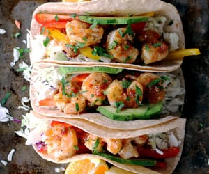 food, tacos, and shrimp image
