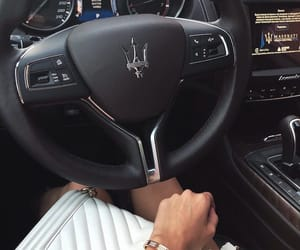 car, maserati, and beauty image