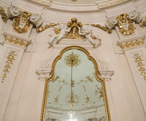 gold, architecture, and vienna image