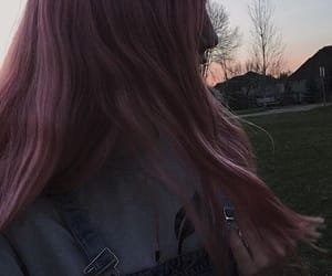 aesthetic, pink hair, and hufflepuff image