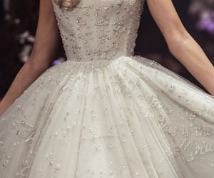 designer, dress, and Couture image