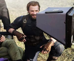 Marvel, chris evans, and infinity war image