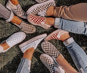 vans, retro, and shoes image