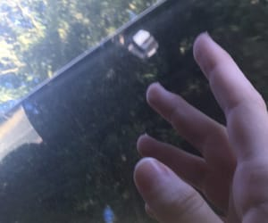 aesthetic, car, and fingers image