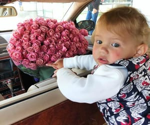 baby, Best, and flowers image