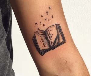 book, tattoo, and tattoobook image
