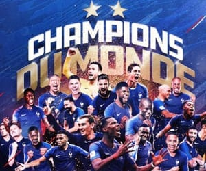 france, football, and champions image