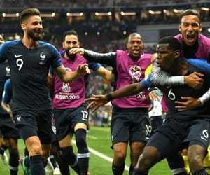 football, france, and soccer image