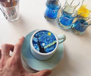 art, delicious, and drink image