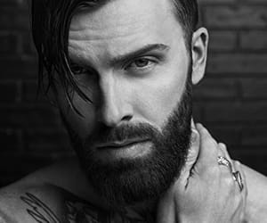 barber, handsome, and men image