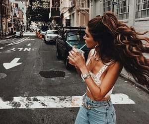 hairstyle, hair, and hair goals image