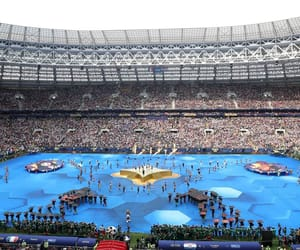ceremony, russia, and world cup image