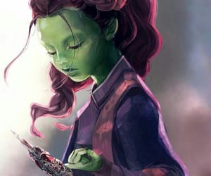 Avengers, guardians of the galaxy, and gamora image