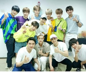 exo, nct, and nct dream image