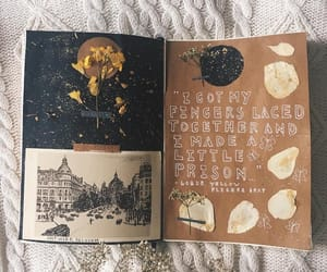 art, diary, and journal image