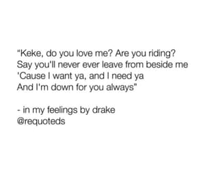 Drake, Lyrics, and music image