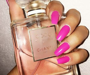 chanel, nails, and highclass image