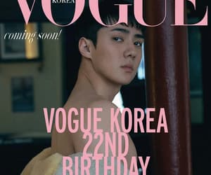 exo, sehun, and vogue image