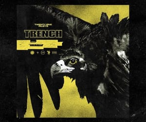 twenty one pilots, trench, and music image