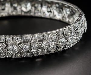 art deco, platino, and diamantes image