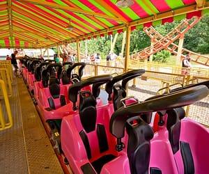 amusement park, kansas city, and clay image
