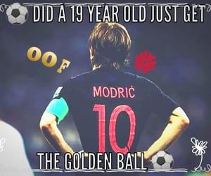 football, world cup, and modric image