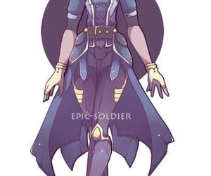 blue, character design, and cool image