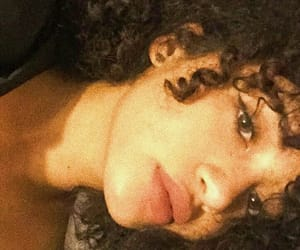 aesthetic, curly hair, and fashion image
