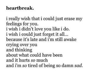 crush, depressed, and depression image