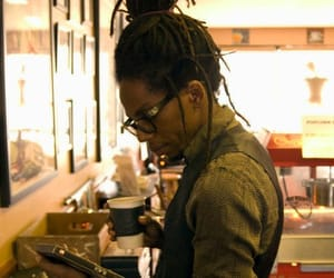 brown skin, dreads, and man image