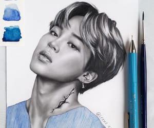 asian, fan art, and kpop image