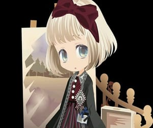 background, doll, and girl image