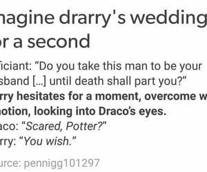 draco malfoy, fandom, and harry potter image