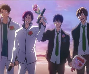 rin, haru, and free! image