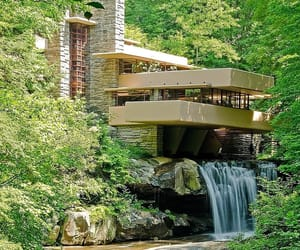 architect, frank lloyd wright, and house image