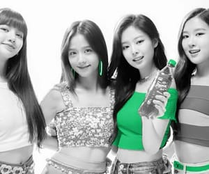 black and white, ♥, and blackpink image