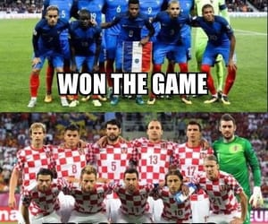 Croatia, football, and france image