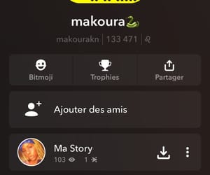 french, snap, and girl image