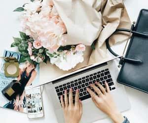 desk, fashion, and write image