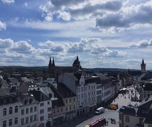 buildings, city, and trier image