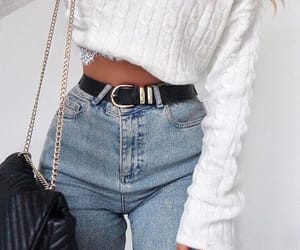belts, jeans, and clothes image