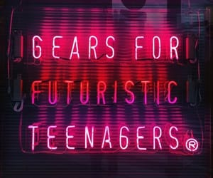 glow, grunge, and neon signs image