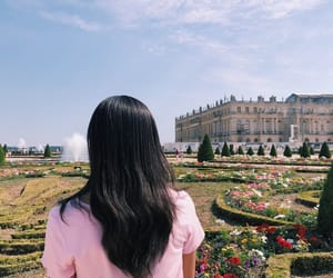 aesthetic, castle, and faceless image