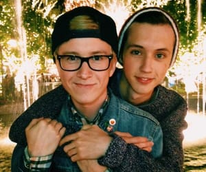 troye sivan and tyler oakley image